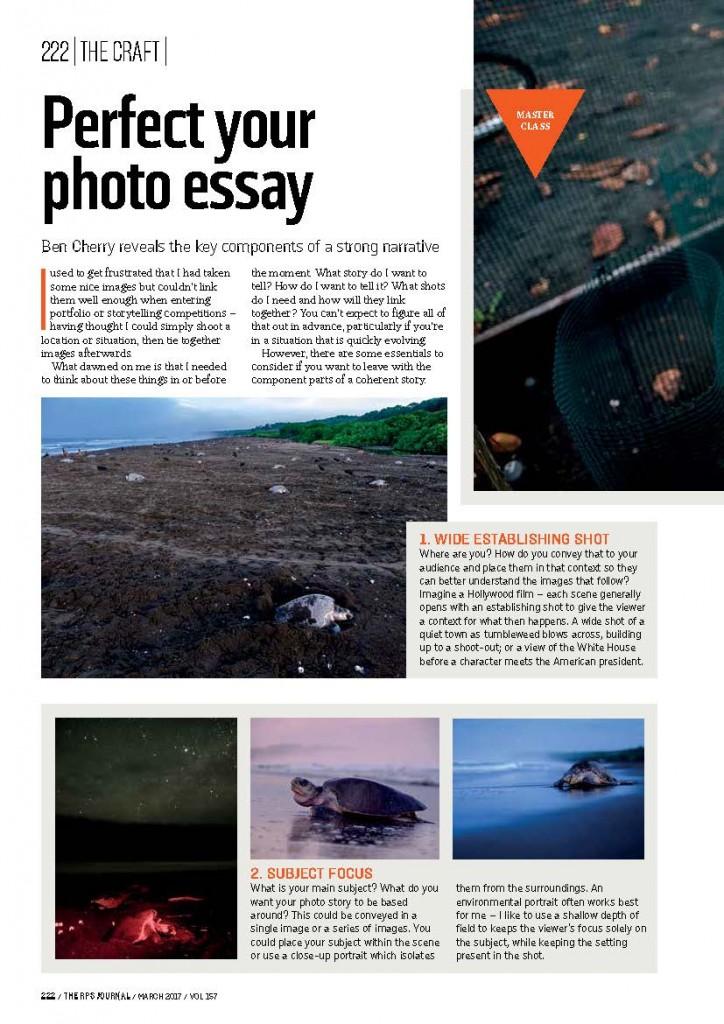 the photographic essay