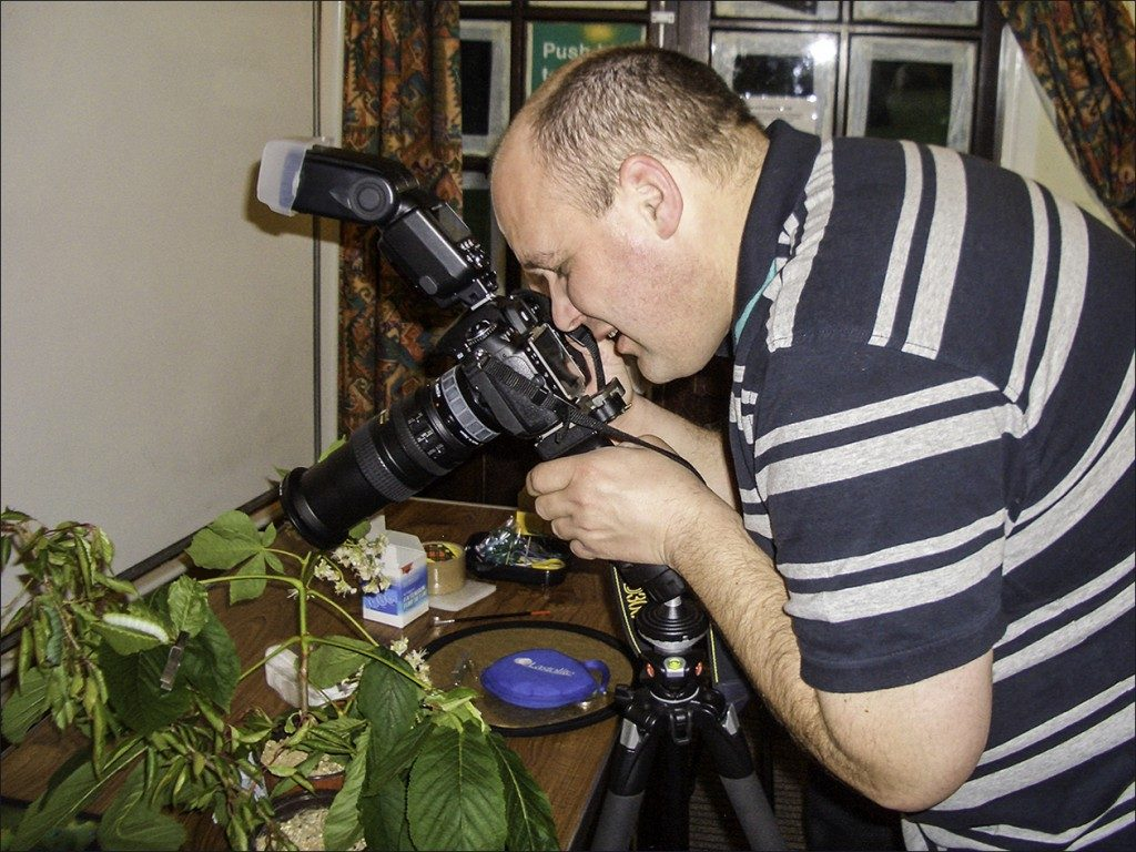 Camera Craft session at Chalfonts & Gerrards Camera Club