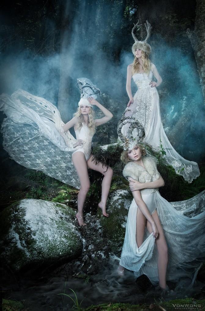 Queens of Winter by Benjamin Von Wong
