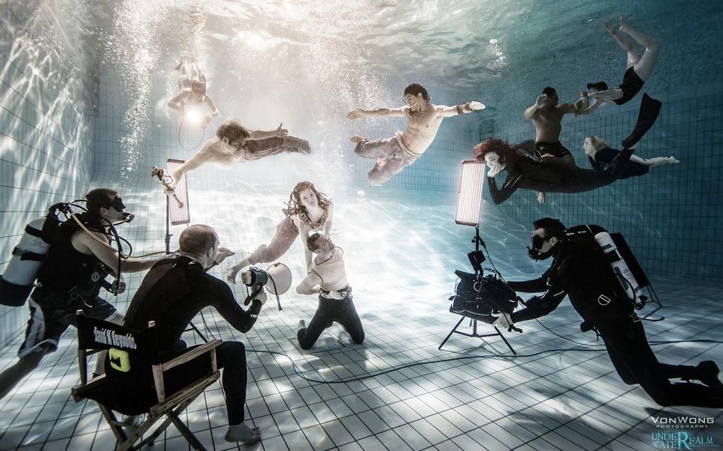 The Under Water Realm by Benjamin Von Wong