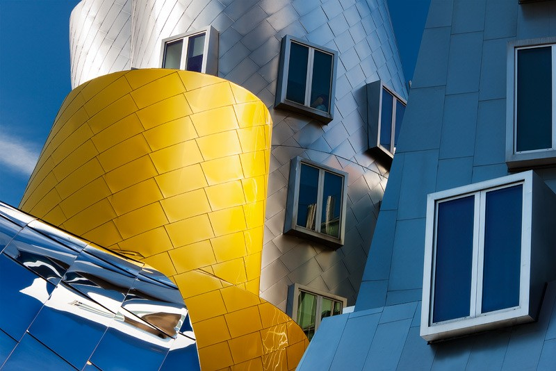 Value Engineering by David Clapp captured at the Stata Building in MIT Boston Massachusetts