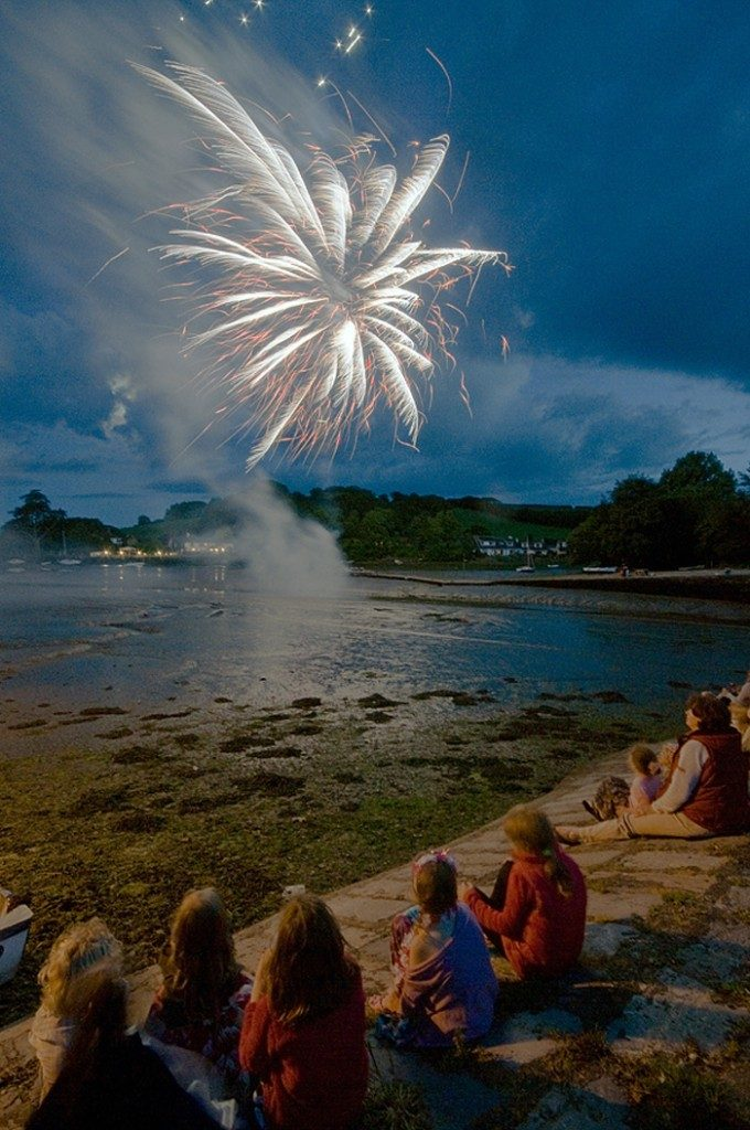 Kingsbridge Fireworks by John Hales