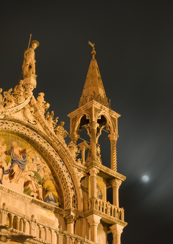 Midnight at St Marks by John Hales