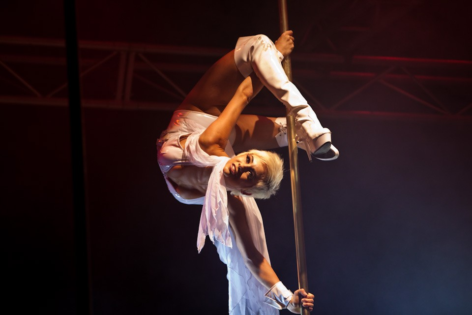 2008 Miss Pole Dance Australia Winner Felix Cane by Daniel Boud