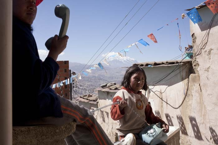 """Illimani"", La Paz, Bolivia, 2009 © Malin Sjoberg 2013."