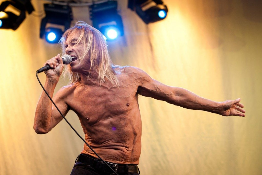 Iggy Pop at Big Day Out by Daniel Boud