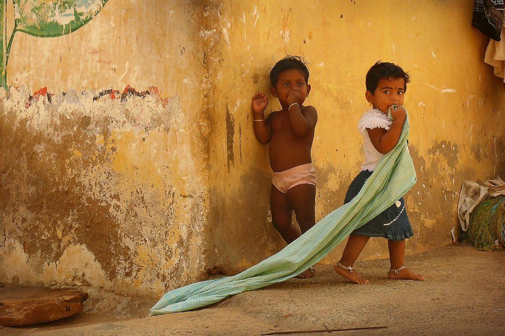 Anastasiia Kononenko, Indian Children, Kanyakumari, India.