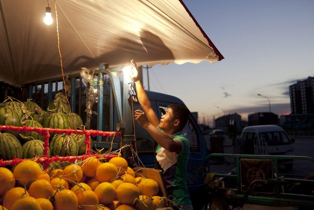 Hao Wu, Fruit Merchant, Beijing.