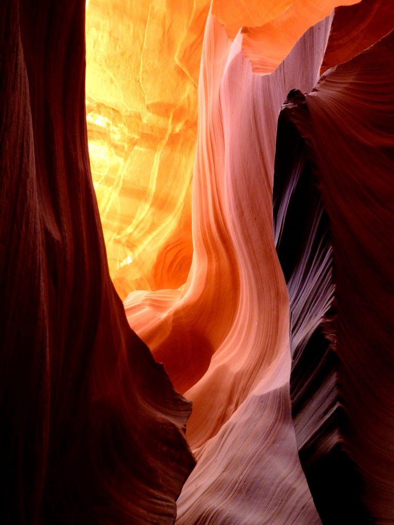 Samuel Ravi Choudhury, Lower Antelope Canyon, Arizona, USA.