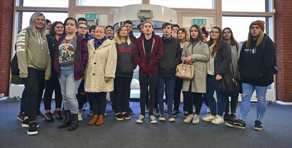 Group visit from City College Coventry