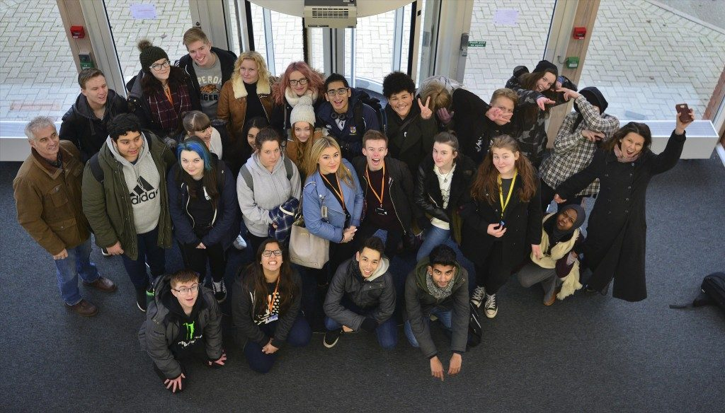 Group visit city college Coventry Jan 2017