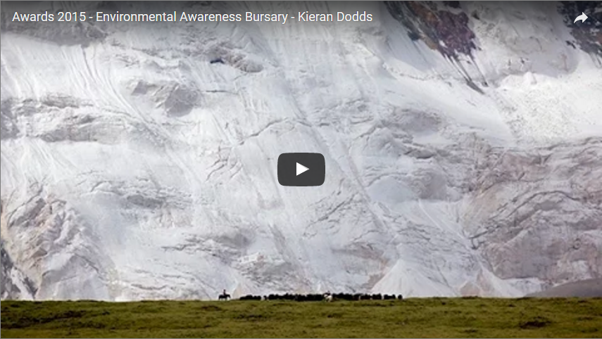2015 TPA RPS Environmental Bursary winner Kieran Dodds interview