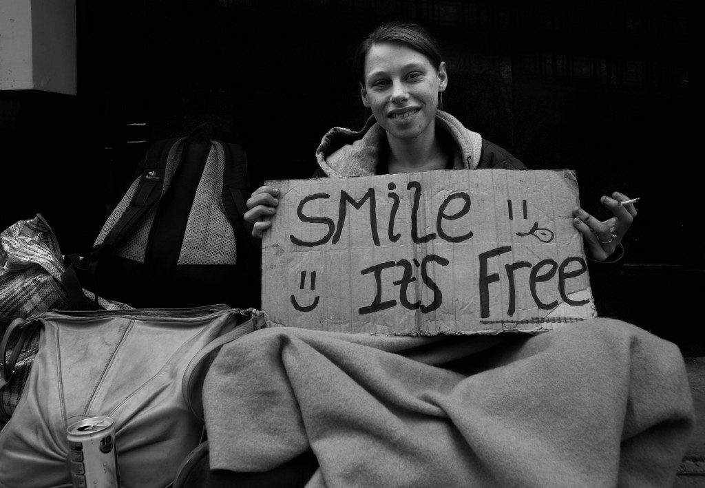 Smile It's Free.Ian-Walker.London