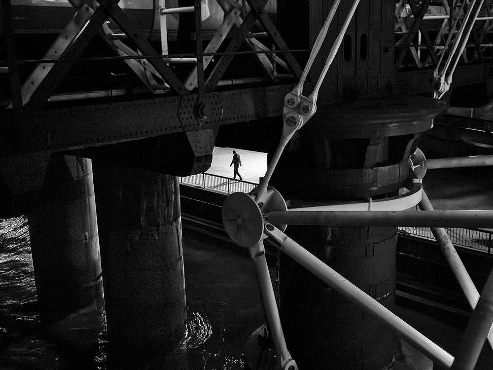 Under the bridge by Rupert Vandervell