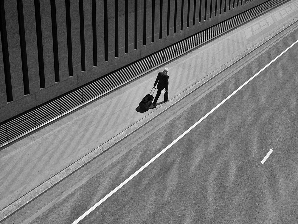 Walking Man by Rupert Vandervell