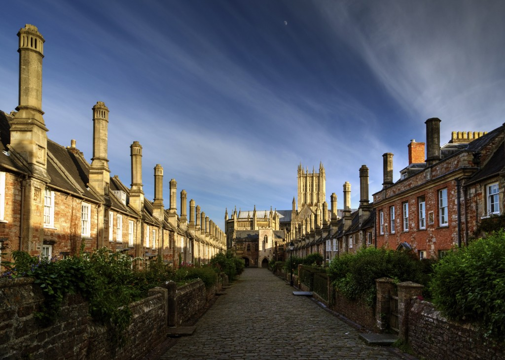 Vicars Close, Wells, Somerset taken by Keith Britton