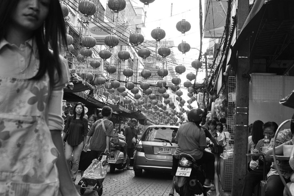 Christine Pearl, Pinch, Flower & Indian Market, China.